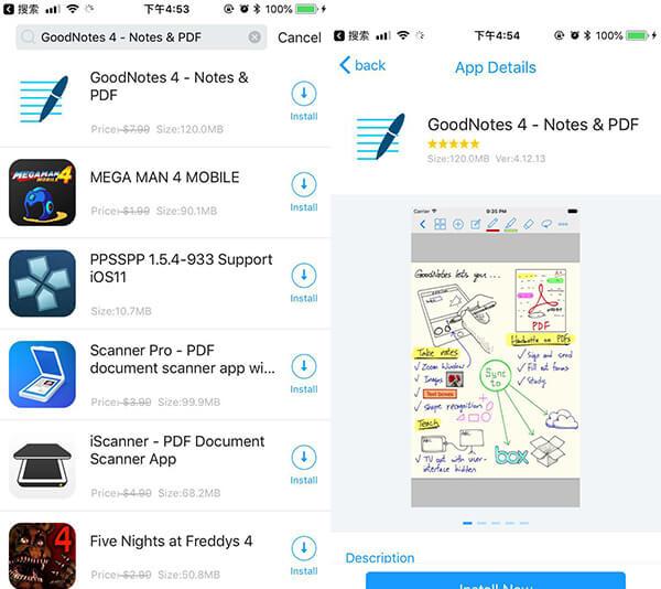 تحميل تطبيق تدوين الملاحظات GoodNotes iOS للايفون والايباد